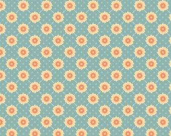 Daydream Blue Daydream Trellis by Stitch Studios for Riley Blake, 1/2 yard