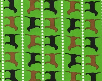 Pooches and Pickups Spring Pooches by Laurie Wisbrun for Robert Kaufman, 1/2 yard