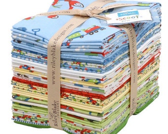 Scoot Fat Quarter Bundle by Deena Rutter for Riley Blake, 24 pieces