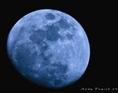Moon Gets The Blues 8x12 Fine Art Print