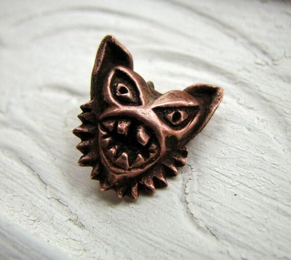 Wild at heart monster pendant