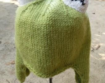 Kermit the Frog Ear Flap Hat