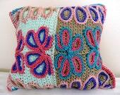 Flora - Crochet Pillow