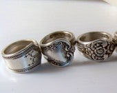 Spoon Ring from Silverware - YOU choose size and style from my shop (silverWARES)