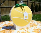 Large Tennis Ball Gift or Favor Packaging