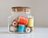 Glass & Cork Storage Jar