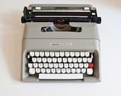 Vintage Mid Century Olivetti Lettera Typewriter