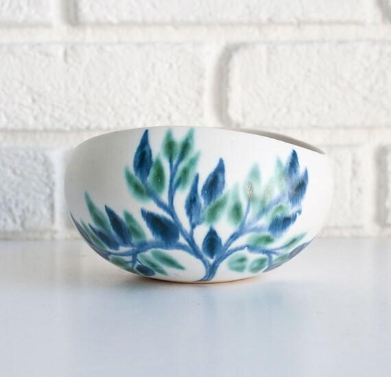 Vintage Mid Century Modern Ceramic Bowl