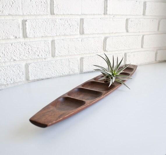 Danish Modern Wood Tray