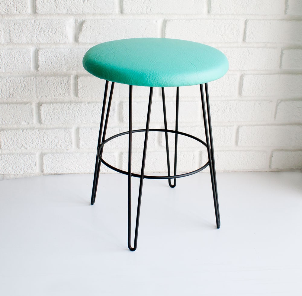 Mid Century Modern Stool By Kibster On Etsy