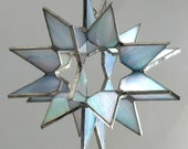 Reserved for Ninian---Iridescent Double Moravian Star / Octagonal star