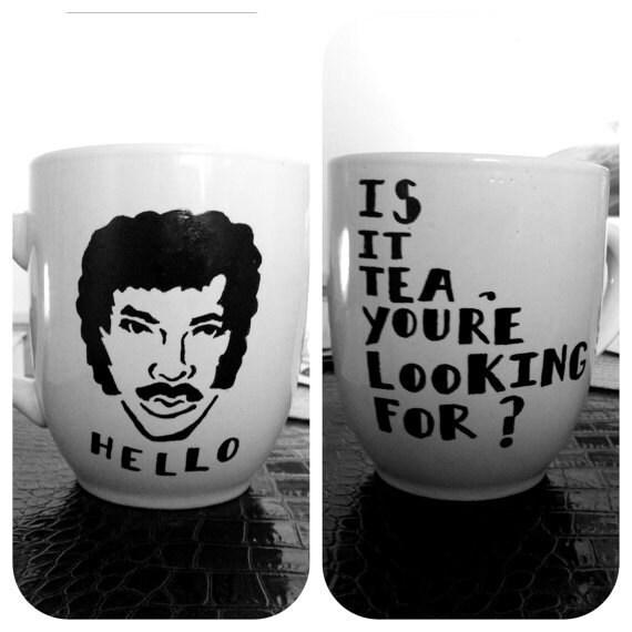 BROWN Lionel Richie Coffee Mug (12 oz)