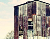 Mill Work - 8x10 Fine Art Photography - Industrial Loft Decor - Rural Americana in Rusty Reds