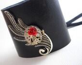 La Belle Rose - Steampunk Corset Cuff