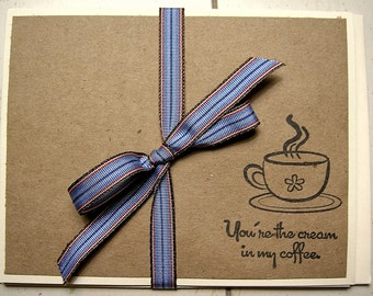 Coffee/Tea Notecards - Set of 4
