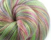 BEACH UMBRELLA PASTEL Falkland British Merino/Tencel Lace Weight Yarn