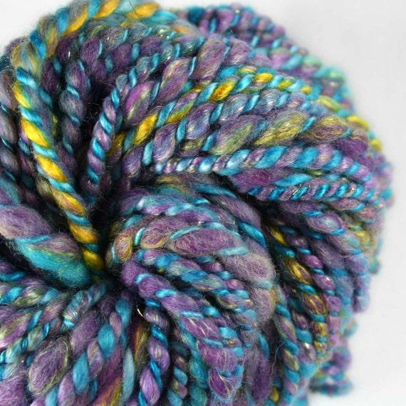 Sale WATER & MOONBEAMS Handspun Merino Bamboo Cashmere Silk Sparkle Yarn