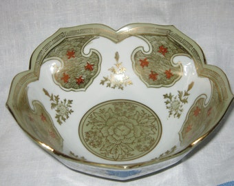 Lotus Bowl Porcelain c.1940s By Gatormom13