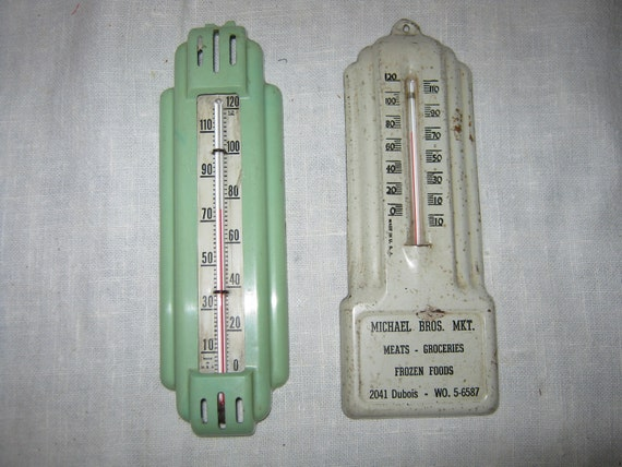 Vintage Thermostats Advertising c.1940s By Gatormom13