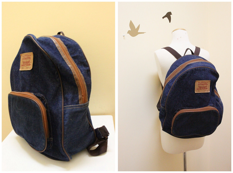Vintage Denim Backpack By Levi Strauss Amp Co