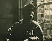 Deep in the Shadows Original Vintage Photo 840