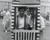 Jail Time Original Vintage Photo 916