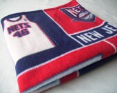 CLEARANCE, Just My Size Fleece and Minky Blanket, New Jersey Nets