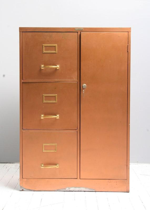 Vintage Metal Steelmaster File Cabinet
