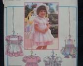Toddler's Dress Uncut Sizes 1/2 - 2 Simplicity 9646