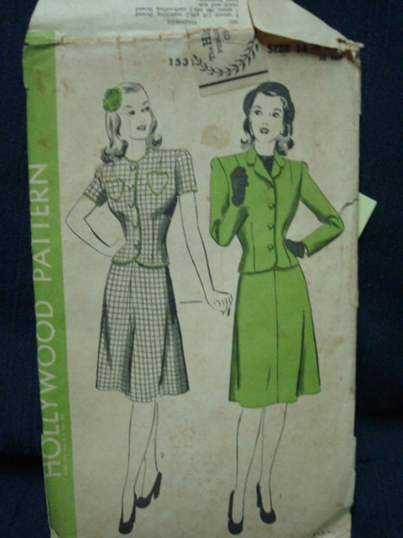 1940s Suit Advance 1531 Bust 32