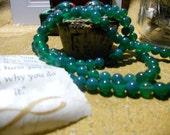 108 Bead Green Onyx Mala