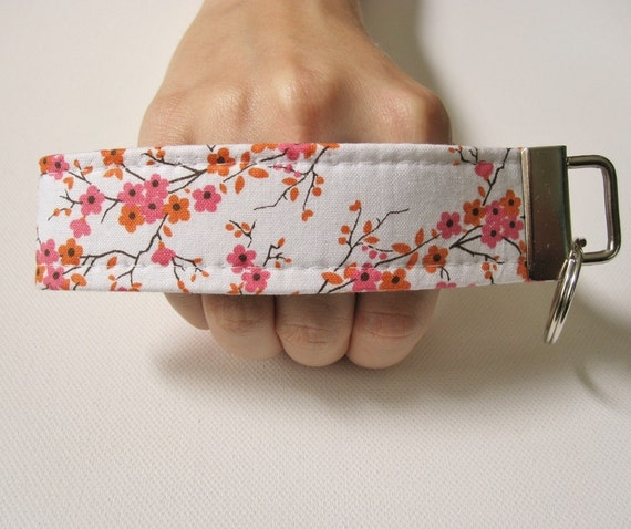 Key Fob Wristlet- Just Lovely
