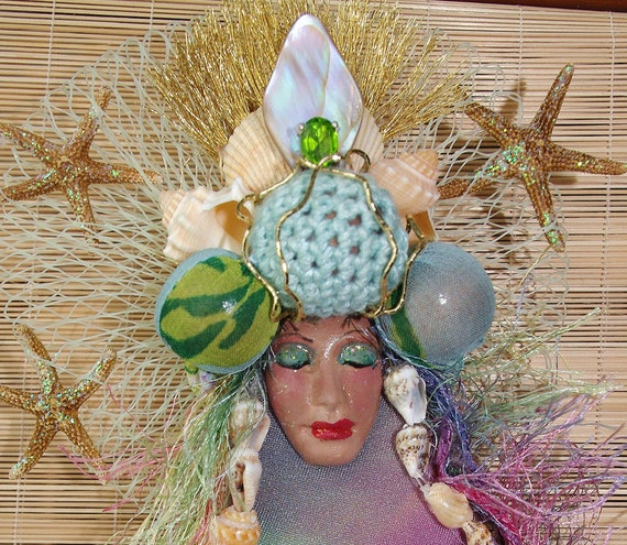 Trinket Mermaid of Fish Nets