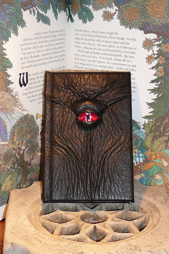 Mythical Beast Book (The Watchful Eye-Fiery Red eye)