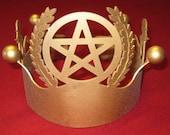 Pagan King Golden Crown