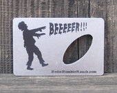 Zombie Bottle Opener for Wallet - FREE SHIPPING