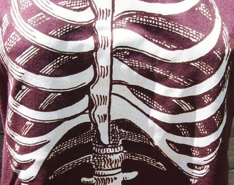 Skeleton Torso Ribcage T-Shirt