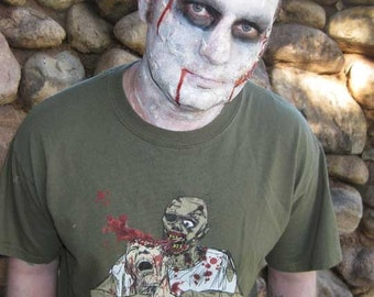 Zombie Shirt - Graphic Zombie Design Original Artwork T-shirt