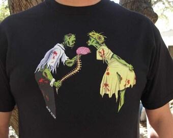 Zombie Shirt - Zombie Love T-Shirt