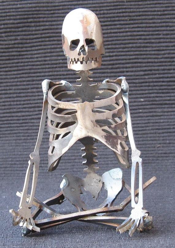 Zombie Skeleton Yoga Pose Zen Lotus