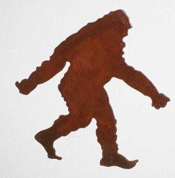 bigfoot outline - photo #28