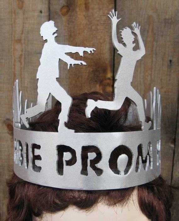 Zombie Prom King Silver Crown