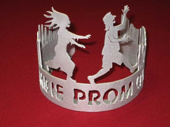 Zombie Prom Queen Silver Crown