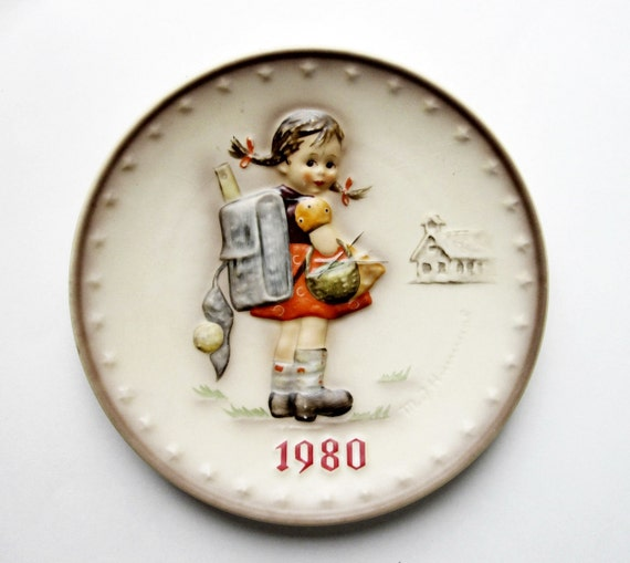 Genuine Hummel Commemorative  Plate - 1980 -Germany