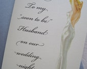 To Husband On Our Wedding Night