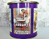 Cadburys Chocolate Biscuits Tin, Large, Mint Condition