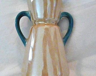 European Lustre Ware Vase, Vintage and Graceful