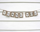 Mini THANK YOU Banner, Custom Colors Available