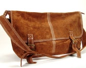 The Walker - Suede Leather Messenger
