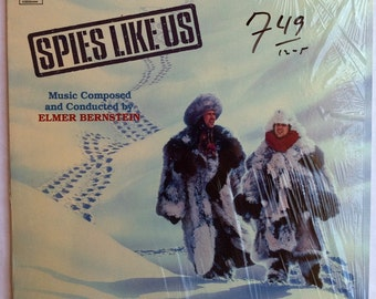 VERY RARE Spies Like Us Vinyl Soundtrack -- Near Mint